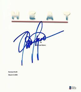 DENNIS HAYSBERT SIGNED 'HEAT' FULL SCRIPT SCREENPLAY AUTHENTIC AUTO BECKETT