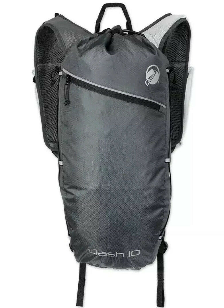 KLYMIT DASH 10 grau RUNNING PACK Backpack New With Tags