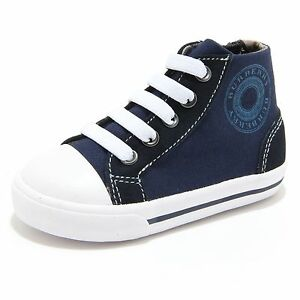 84731 sneaker blu BURBERRY scarpa bimbo bimba shoes kids unisex [23] F9mKYoZXLt