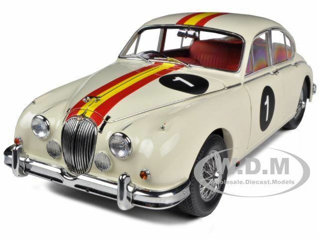 1962 Jaguar Mark Ii 3,8 Bob Jane australiano touringcar 1 18 Modelo iconos 32106