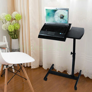 Image Is Loading Adjustable Portable Laptop Table Stand Folding Computer  Desk