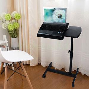 Ajustable portable table d&#039;ordinateur portable support pliable ordinateur bureau canapé lit plateau neuf  </span>