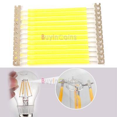 1W COB LED Filament Light Source for LED Bulb Globe Candle Light Pure White DIY