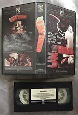 Unhinged Pre Cert Avatar Communications VHS Video Nasty DPP