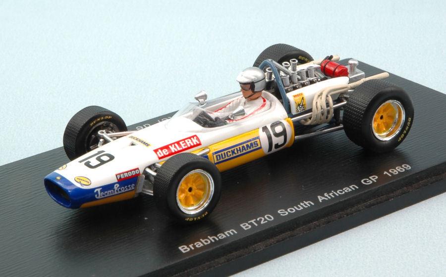 Brabham Bt20 P. De Klerk 1969  19 Nc South African Gp 1:43 Model S4777