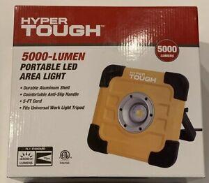 Details About Hyper Tough 5000 Lumen Led Area Light Portable Brand New