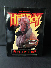 Bowen Museum Style Hellboy Statue Bust SIGNED by Creator MIKE MIGNOLA