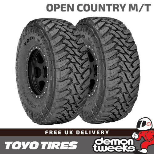 2 x TOYO OPEN COUNTRY M//T fuori strada//fango//NEVE PNEUMATICI 4x4-225 75 R16 115P