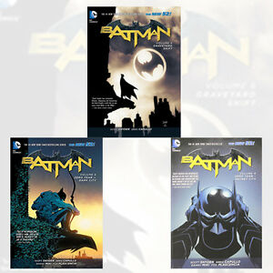 Scott-Snyder-Batman-Collection-Vol-4-5-6-3-Books-Set-Zero-Year-Secret-City