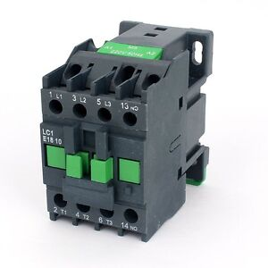 AC-Contactor-Motor-Starter-Relay-3-Phase-Pole-1NO-24V-Coil-Voltage-LC1E-1810