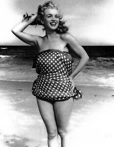 Marilyn Monroe at the beach Photo Print 8 x 10