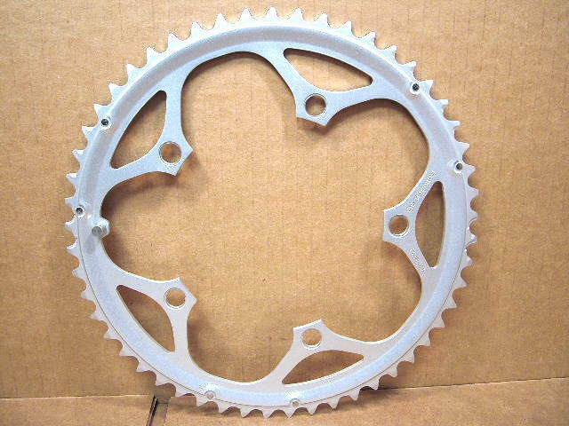 NOS Shimano SuperGlide (Later Generation) Chainring...53T and 130 mm BCD