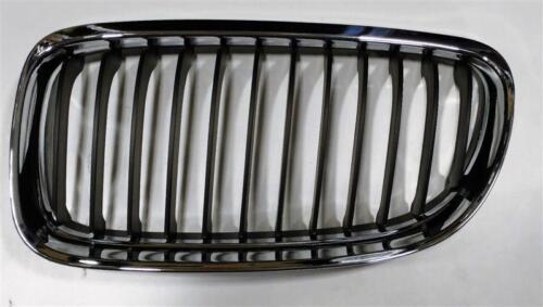 BMW SERIE 3 E90 E91 09-12 GRIGLIA ANTERIORE SINISTRA Rene Nero Chrome 51137201969
