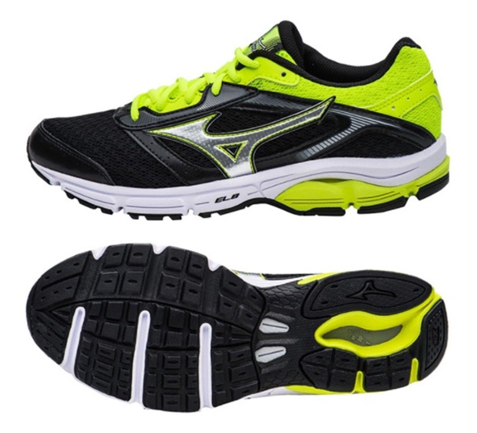 Mizuno mannen Wave IMPETUS 4 Training schoenen zwart hardlopen sportschoenen schoen J1CG161305