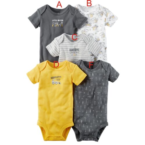 5 Pcs New born Baby Toddler Boys Girl Romper Jumpsuit Bodysuit Outfits Clothes