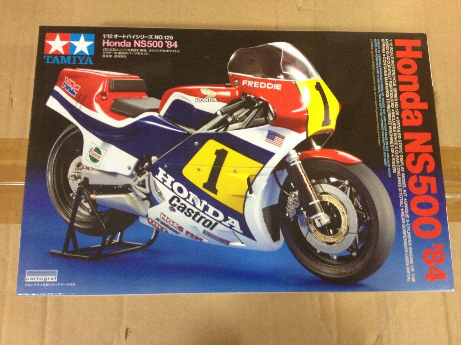 Maqueta Tamiya Honda NS500  84,Ref.14125,Escala 1 12
