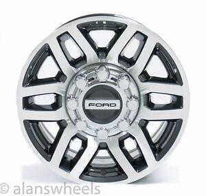 4-New-Takeoff-Ford-F250-F350-Super-Duty-8-Lug-18-Factory-OEM-Wheels-Rims-2005-20