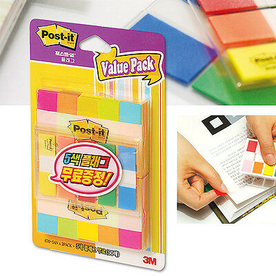ValuePack x 3M Post-it Flag 670-5AN/683-5KP Bookmark Point Index Tabs Marker