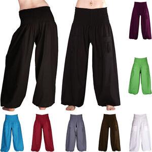 Pantalon Bouffant Pocket-pantalon Poches Pluderhose Unisexe Femmes Hommes Yoga Ballonhose-afficher Le Titre D'origine