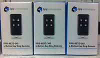 Brand 3 2gig 2gig-key2-345 4 Button Wireless Remote Keyfob