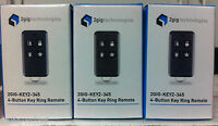 Brand 3 2gig 2gig-key2-345 4 Button Wireless Remote Keyfob