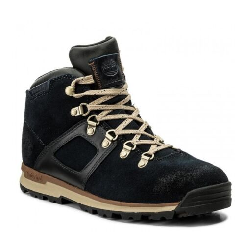 Auténtico Calzado L Timberland Mid £ Rrp Navy A113v 200 Boot Earthkeeper TxYqx4