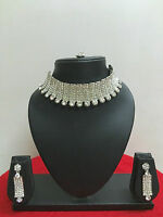 Indian Bollywood Jewelry Gold Bridal Wedding Fashion Jewellery Necklace Set