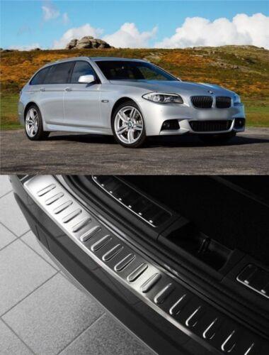 2010-2016 BMW 5ER F11 Touring Chrome Arrière Protection Pare-chocs Scratch Guard S Steel