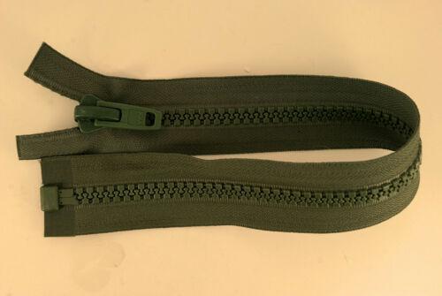 Bout Ouvert Fermeture Éclair environ 38.10 cm Sac Bagages 15 IN Zip Vert 38 cm Olive YKK militaire 10 V