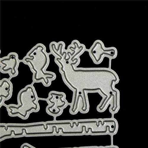 Forest Tree Pole Design Metal Cutting Dies For DIY Scrapbook Album Card Decor ho