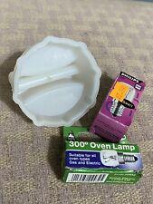 Jegs Screw Pygmy Lamp Bulb Light 15W SES//E14 Oven Lamp Heat Resistant Pack of 2