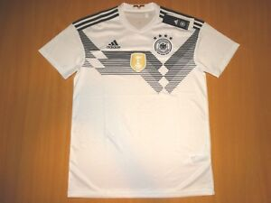 Details zu NEU NEW GERMANY Deutschland 2018 2019 HOME Adidas M shirt TRIKOT ORGINAL