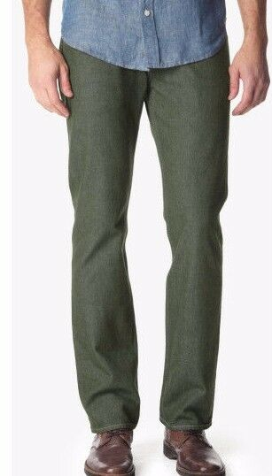 NWT 7 FOR ALL MANKIND Sz33 THE STRAIGHT TAPERED STRAIGHT LEG JEANS CYPRESS