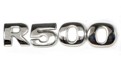 Ensemble 4 Pièces 3D Lettre Numéro pour Scania R500 Acier Inoxydable Housse Déco