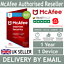 miniatuur 1 - McAfee Internet Security 2021 - 1 Device - 1 Year - 5 Minute Delivery by Email*