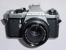 PENTAX ME SUPER 35mm FILM SLR CAMERA WITH PENTAX-M 50mm F/2 SMC LENS * Ex+++