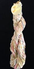 Noro Wakaba 100% Cotton Ribbon Yarns Unique Knitting Ribbon Multi Pastels #33