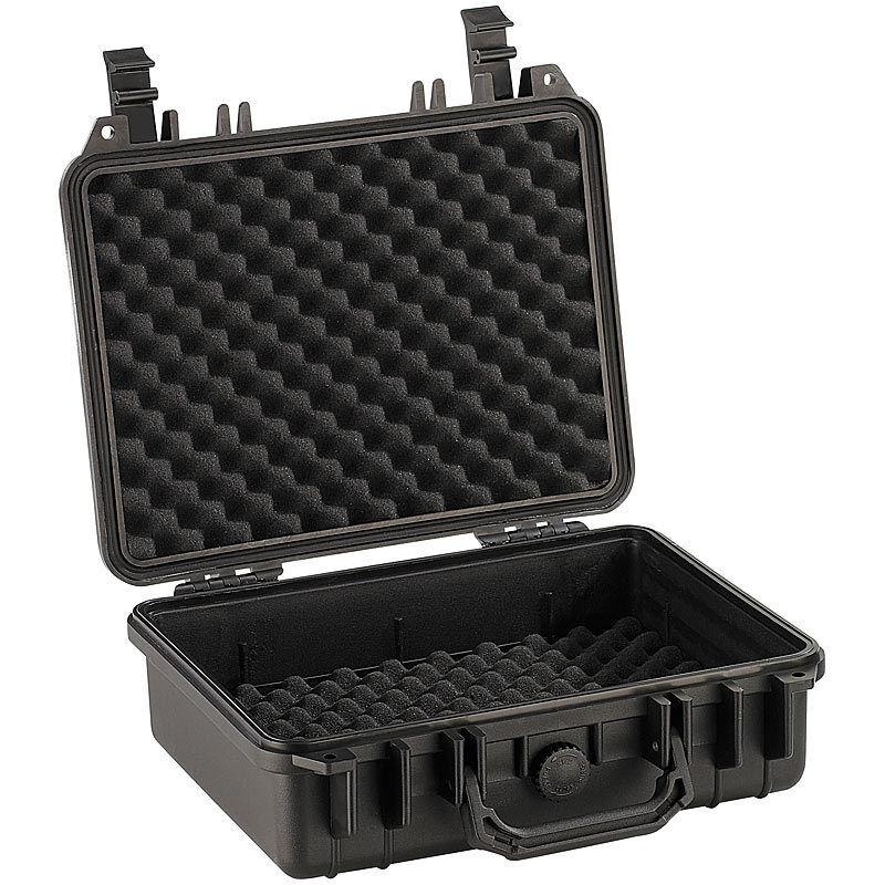 Kunststoffkoffer  Staub- und wasserdichter Koffer, 33 x 28 x 12 cm, IP67 | Exzellente Verarbeitung  | Ausgezeichnete Leistung  | Lebensecht