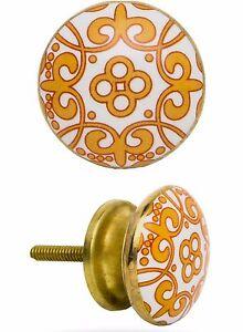 POMO-Muebles-Manija-de-Modelo-naranja-Spin-Boton-Asidero-Accesorios-los