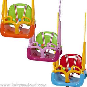 Kinderschaukel Babyschaukel 3 In 1 Gartenschaukel Baby Kinder Garten