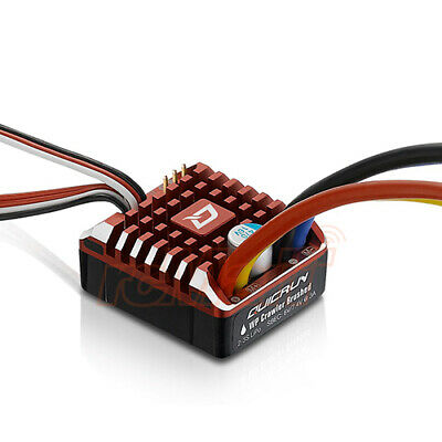 Hobbywing QuicRun 1080 Waterproof 80A Brushed ESC With Program Card For RC Cars