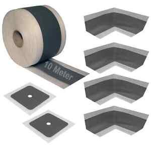 dichtband dichtset f r bad duschen innenecken wandmanschetten sanit rdichtband ebay. Black Bedroom Furniture Sets. Home Design Ideas