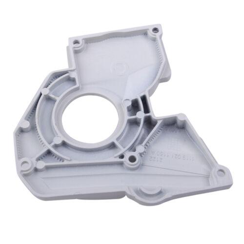 Couvercle Plaque frein de chaîne pompe huile pour STIHL MS380 038 1119 021 1102
