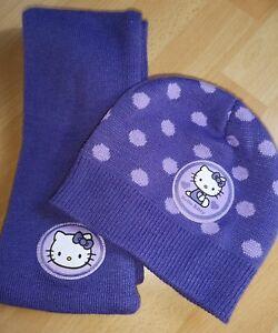 128 One Size Gr Schal Unter Der Voraussetzung Hello Kitty Winterset 110 116-122 Mütze Jade Weiß