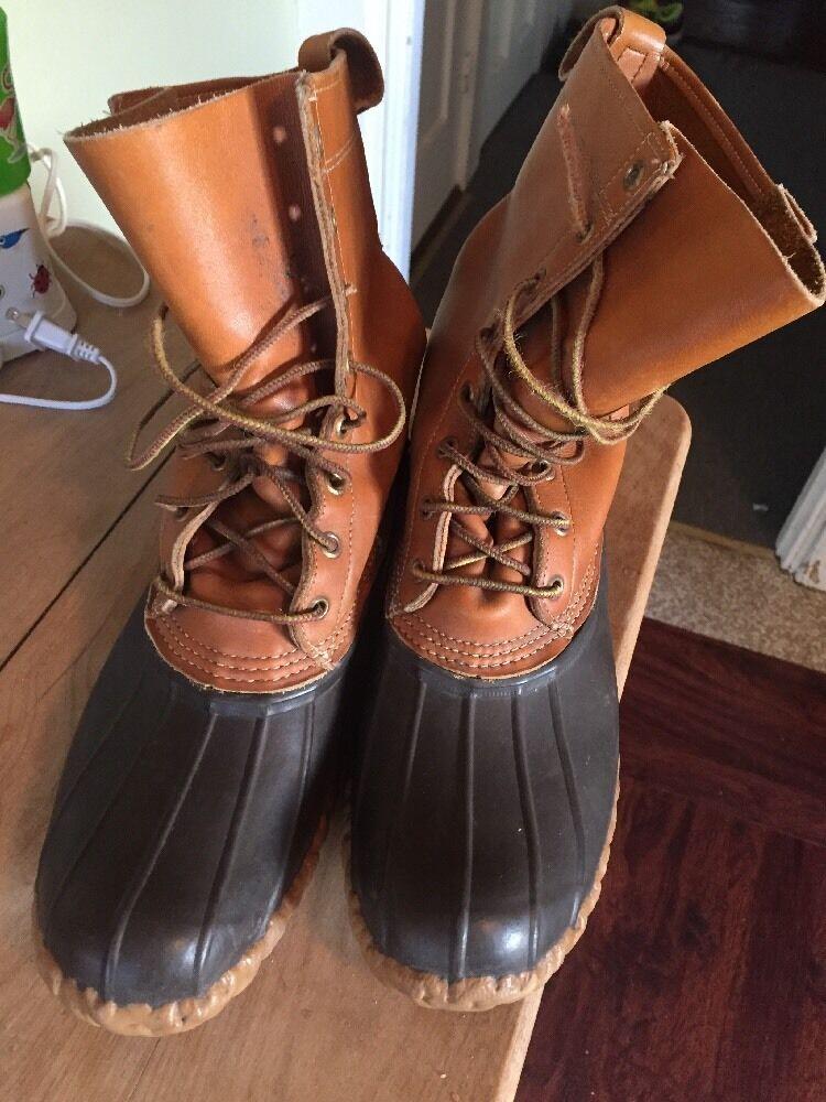LL Bean Boot, Men's 8  Size 10 Nice