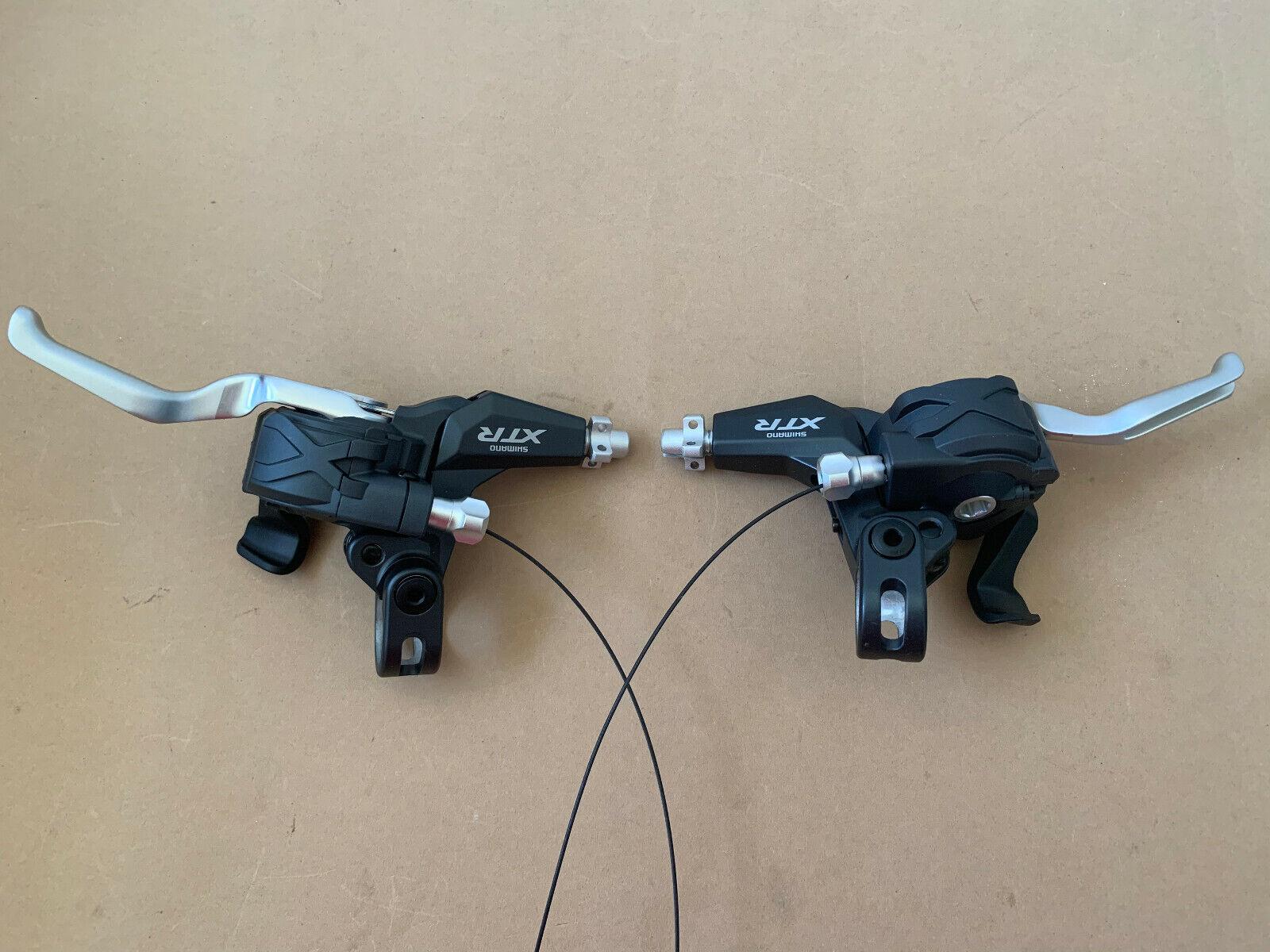 Shimano XTR ST-M970 3x9 TRIPLE links rechts switcHGEAR BRAKE LEVER NEU