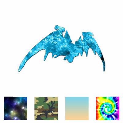ebn89 Multiple Patterns /& Sizes Vinyl Decal Sticker Vampire Bat Silhouette
