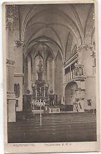 (4200) cartolina Wolfenbüttel chiesa principale BMV