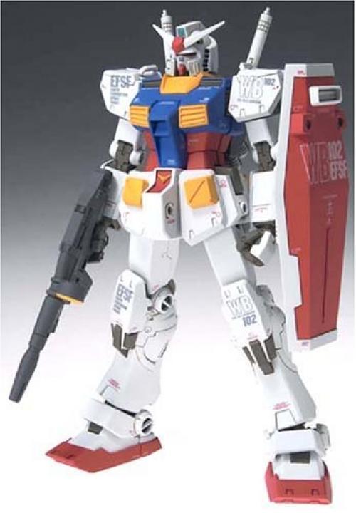 Nuovo Gundam Difficoltà Figuration Rx-78-2 Versione Ka Action Figure