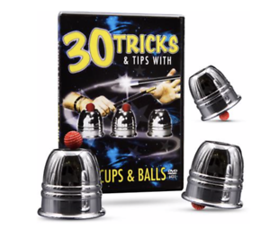 30-Tricks-amp-Tips-Cups-and-Balls-Magic-Training-Combo